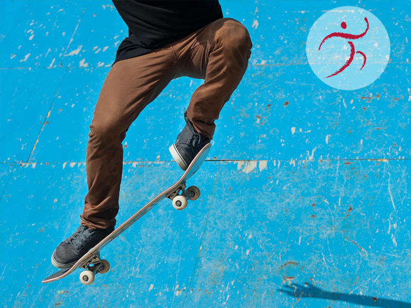 Impuls: BEWEGUNG – Skateboard